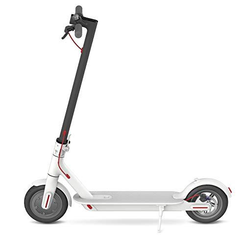 Xiaomi Mi Electric Scooter Monopattino Elettrico Pieghevole, 30 km di Autonomia, Velocità fino a 25 km/h, Versione Italiana, Bianco