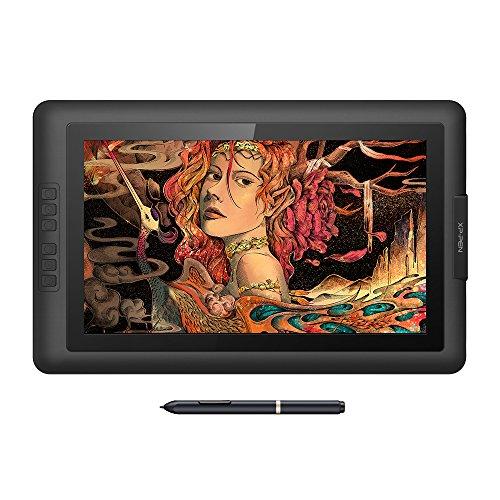 XP-PEN Tavoletta Grafica Artist15.6 con Monitor IPS HD 1980x1080 Penna Senza Batteria Pressione 8192 Levilli