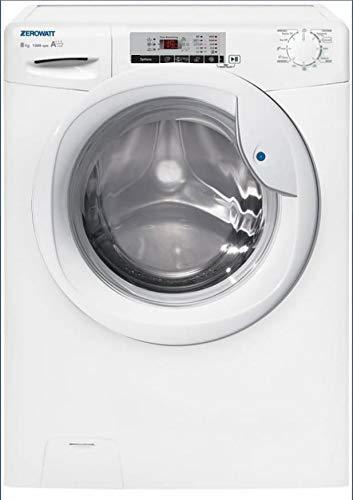 Zerowatt OZ 128T/1-S lavatrice Libera installazione Caricamento frontale Bianco 8 kg 1200 Giri/min A+++