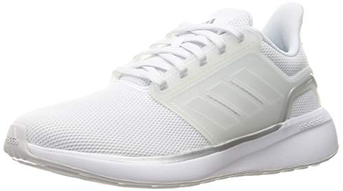 adidas Eq19 Run, Scarpe da Running Donna, Bianco (Ftwbla Ftwbla Plamet), 39 1/3 EU