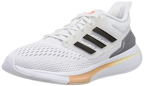 adidas Eq21 Run, Scarpe da Running Donna, Bianco (Ftwbla Negbás Hiemet), 36 2/3 EU