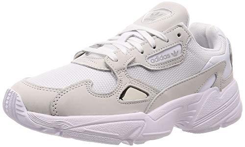 adidas Falcon W, Scarpe da Fitness Donna, Bianco (Ftwbla/Ftwbla/Balcri 000), 40 2/3 EU