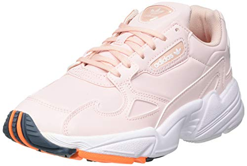 adidas Falcon W, Scarpe da Ginnastica Donna, Vapour Pink/Signal Orange/Legacy Blue, 40 EU