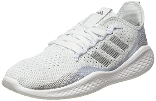adidas Fluidflow 2.0, Scarpe da Running Donna, Bianco, Argento, Blu (Ftwbla Plamet Azuhal), 38 2/3 EU
