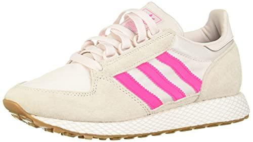 adidas Forest Grove W, Scarpe da Ginnastica Donna, Multicolore (Orchid Tint S18/Shock Pink/Ftwr White Orchid Tint S18/Shock Pink/Ftwr White), 36 2/3 EU