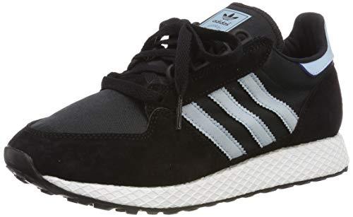 adidas Forest Grove W, Scarpe da Ginnastica Donna, Nero (Core Black/Ash Grey S18/Chalk White Core Black/Ash Grey S18/Chalk White), 36 EU