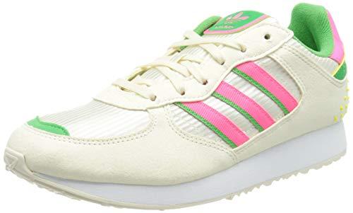 adidas Special 21 W, Scarpe da Ginnastica Donna, Cream White/Solar Pink/Energy Green, 38 2/3 EU