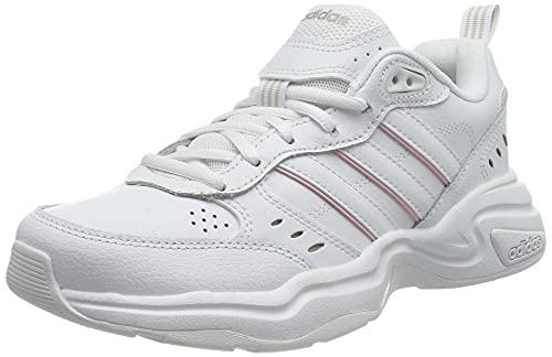adidas Strutter, Scarpe da Ginnastica Donna, Ftwr White/Ftwr White/Clear Pink, 38 2/3 EU