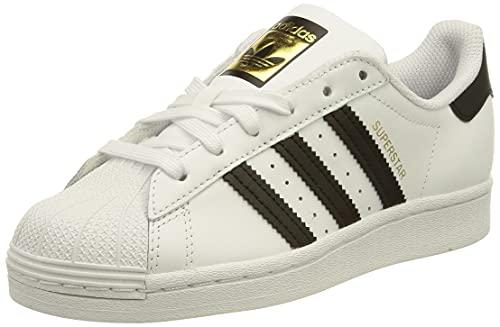 adidas Superstar W, Scarpe da Ginnastica Donna, Ftwr White/Core Black/Ftwr White, 40 EU