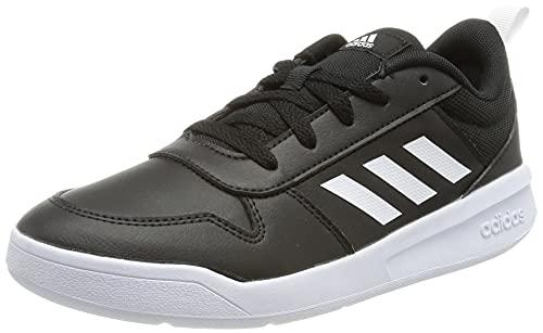 adidas TENSAUR K, Scarpe da Corsa, Core Black/Ftwr White/Core Black, 37 1/3 EU
