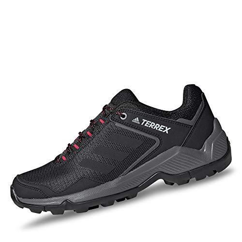 adidas Terrex EASTRAIL W, Scarpe da Trekking Donna, Carbon/Core Black/Active Pink, 44 EU