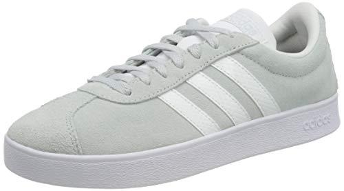 adidas VL Court 2.0, Scarpe da Ginnastica Donna, Halo Blue/Ftwr White/Grey Five, 37 1/3 EU