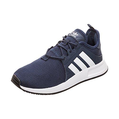 adidas X_PLR J, Scarpe da Fitness, Blu (Maruni/Ftwbla 000), 38 2/3 EU