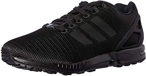 Adidas Zx Flux, Scarpe da Corsa Unisex Adulto, Nero (Core Black/Core Black/Dark Grey), 45 1/3