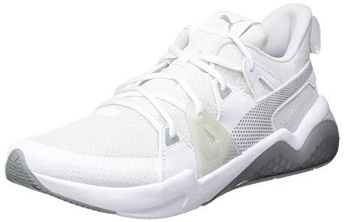PUMA Cell Fraction, Scarpe per Jogging su Strada Uomo, Bianco White-Quarry, 43 EU