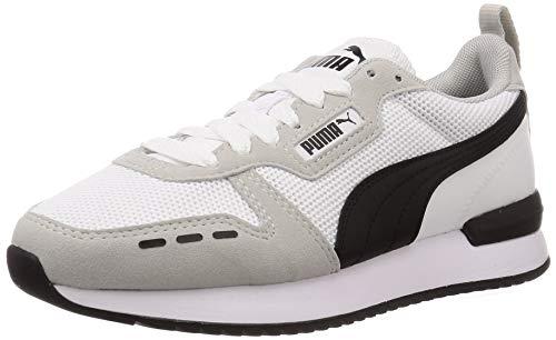 PUMA R78, Scarpe da Ginnastica Unisex-Adulto, Bianco White-Gray Violet Black, 42 EU
