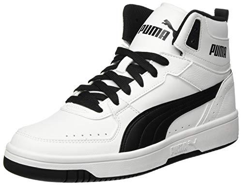 PUMA Rebound Joy, Sneaker Unisex-Adulto, Bianco White Black, 48.5 EU