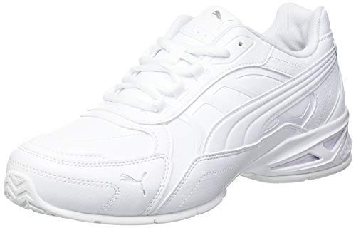 PUMA Respin SL, Scarpe da Ginnastica Unisex-Adulto, Bianco White Silver-Gray Violet, 40.5 EU