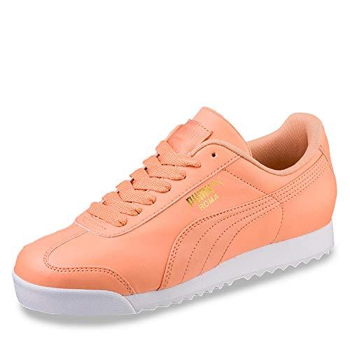 Puma Roma Basic, Scarpe da Ginnastica Basse Uomo, Arancione (Dusty Coral White 82), 37.5 EU