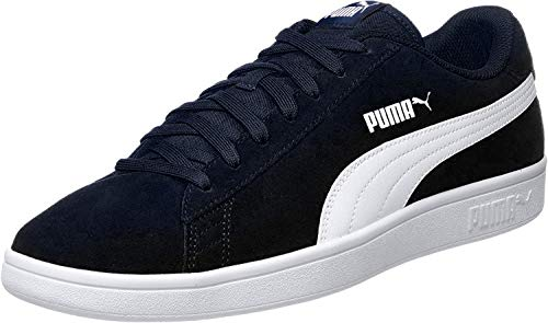 PUMA Smash v2, Sneaker Unisex-Adulto, Blu (Peacoat White), 40 EU