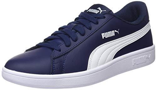 PUMA Smash v2, Sneaker Unisex-Adulto, Blu (Peacoat White), 40.5 EU