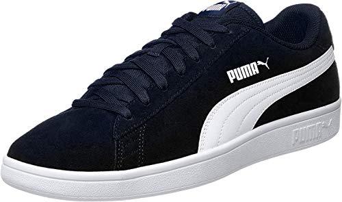 PUMA Smash v2, Sneaker Unisex-Adulto, Blu (Peacoat White), 44 EU