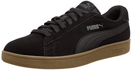 PUMA Smash v2, Sneaker Unisex-Adulto, Nero Black Black, 44 EU