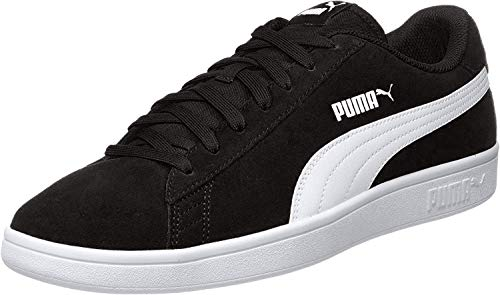 PUMA Smash v2, Sneaker Unisex-Adulto, Nero (Black White Silver), 44 EU