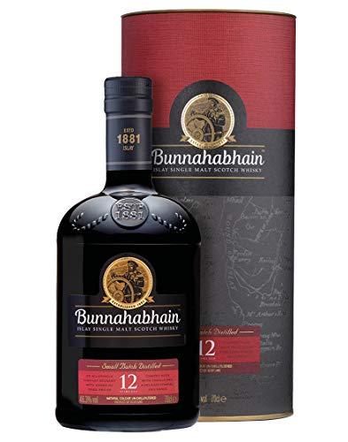 12 Years Old Islay Single Malt Scotch Whisky Bunnahabhain 0,7 L, Astucciato