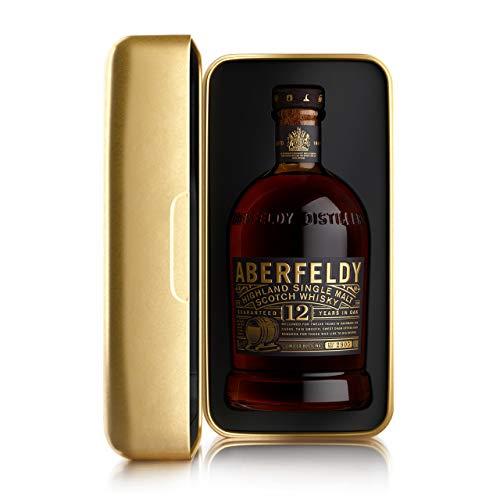 Aberfeldy Scotch Whisky Single Malt 12 Anni, Gold Box Limited Edition - 700 ml