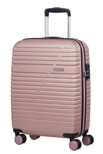 American Tourister Aero Racer - Bagaglio a Mano (4 ruote), Rosa (Rose Pink), S
