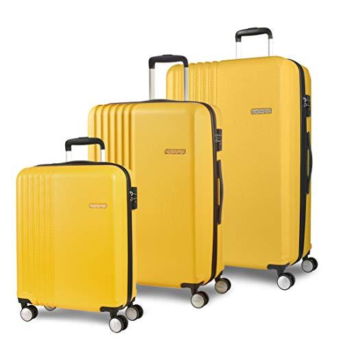 American Tourister Beachrider Bagagli- Set di Bagagli, Taglia Unica, Giallo (Yellow)
