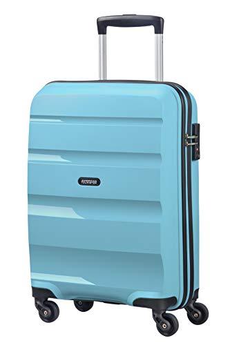 American Tourister Bon Air - Spinner S, Bagaglio a mano, 55 cm, 31.5 L, Blu (Blue Topaz)