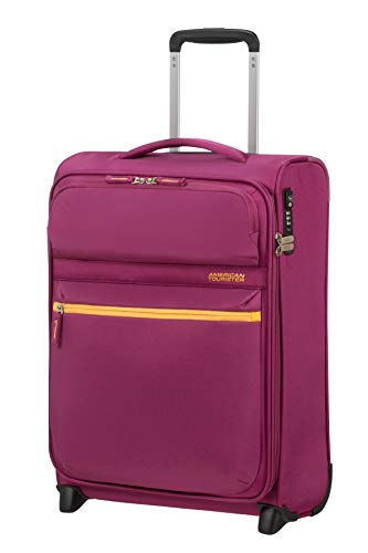 American Tourister Matchup Bagaglio a mano Upright S (55 cm-42.5 Litri), Rosa (Deep Pink)