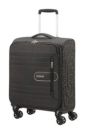 American Tourister Sonicsurfer Lifestyle Spinner S Bagaglio a Mano 55 cm, 40 litri, Nero (Black Speckle)