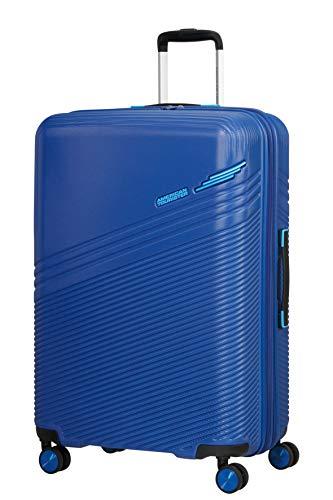 American Tourister Triple Trace Bagagli- Bagaglio a Mano, S (55 cm - 46 L), Blu (Navy/Blue)
