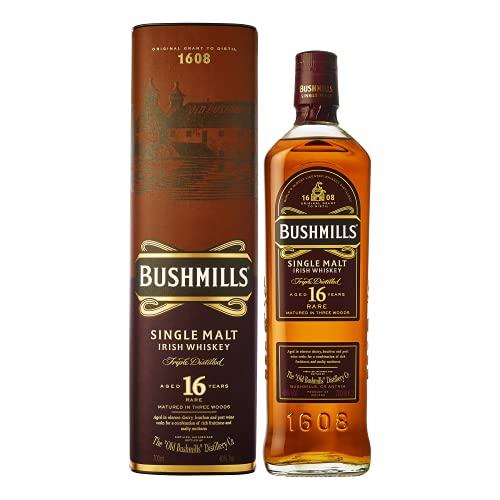 Bushmills 16 Year Old Single Malt Whisky, 75 cl