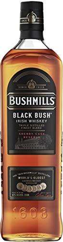 Bushmills Black Bush - Whiskey irlandese, gusto intenso e profondo con note legnose. Bottiglia da 70cl, vol.40%