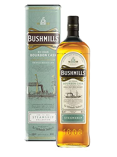 Bushmills CHAR BOURBON CASK Reserve The Steamship Collection 40% Vol. 1l in Giftbox