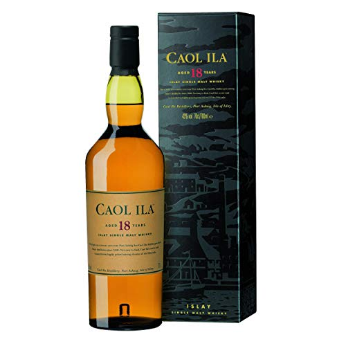 Caol Ila 18 Years Old Islay Single Malt 43% Vol. 0,7l in Giftbox