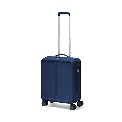 Ciak Roncato, INFINITY - Trolley Viaggio da Cabina 55x40x20 Dimensioni Standard, Bagaglio a Mano in ABS 100%, Blu Navy