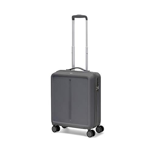 Ciak Roncato, INFINITY - Trolley Viaggio da Cabina 55x40x20 Dimensioni Standard, Bagaglio a Mano in ABS 100%, Antracite
