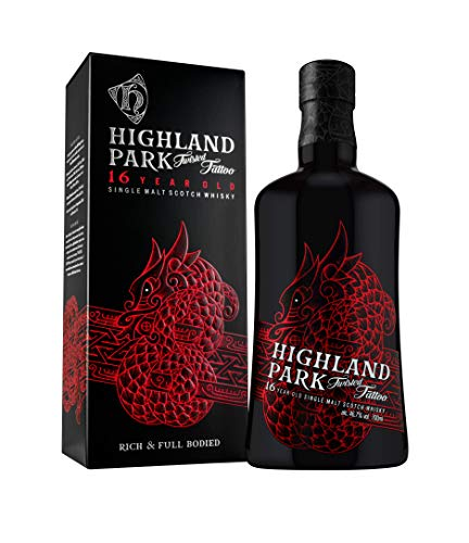 Highland Park 16 Years Old TWISTED TATTOO Single Malt Scotch Whisky 46,7% Vol. 0,7l in Giftbox