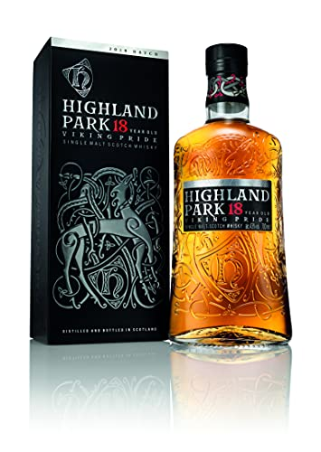 Highland Park 18 Years Old VIKING PRIDE Single Malt Scotch Whisky 43% Vol. 0,7l in Giftbox