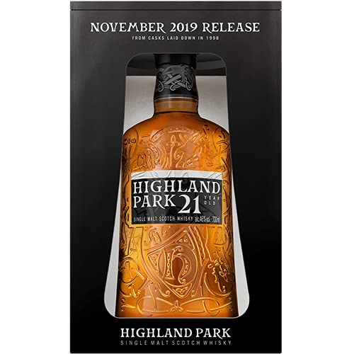 Highland Park 21 Years Old Single Malt Scotch Whisky Release 2019 46% - 700ml in Giftbox