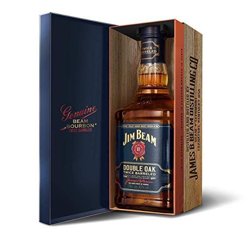 Jim Beam Double Oak Twice Barreled 43% Vol. 0,7l in Giftbox