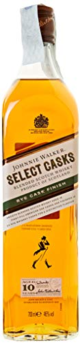Johnnie Walker 10 Years Old Select Casks Rye Cask Finish Whisky (1 x 0.7 l)