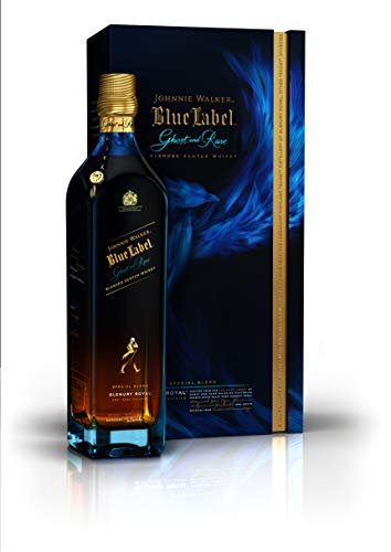Johnnie Walker Blue Label Ghost & Rare Glenury Royal, Blended Scotch Whisky - 70cl in Giftbox