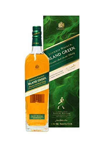 Johnnie Walker ISLAND GREEN Blended Malt Scotch Whisky Select Release 43% Vol. 1l in Giftbox