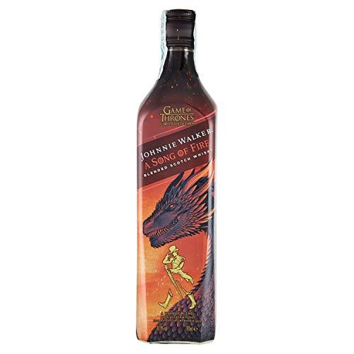 Johnnie Walker - Song of Fire, Blended Scotch whisky. Edizione Limitata Game of Thrones: Casa Targaryen - 700 ml